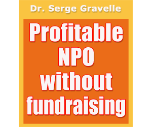 Profitable NPO without fundraising