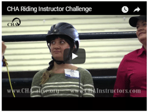 CHA Riding Instructor Challenge Promo for Your Horse Expo
