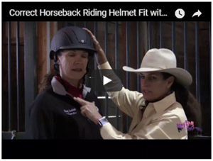 How to Fit a Helmet for Horseback Riding