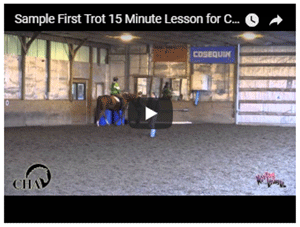 Sample 15 minute lesson First Trot #2