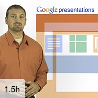 Google Presentations: 02-Working with Images, Video and Tables, Animating Slide Elements, Collaborat