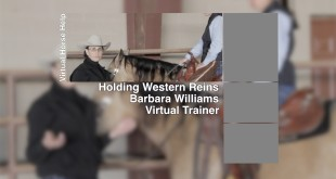 Holding Western Reins – Barbara Williams