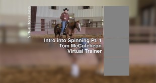 Part 1 Training Your Horse to Spin – Tom McCutcheon
