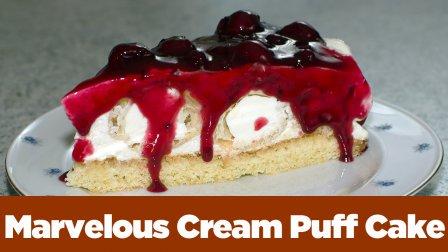 Marvelous Cream Puff Cake ... easy as pie :-)