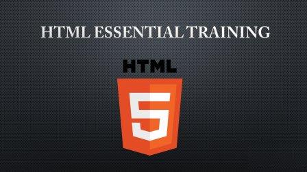 HTML5 Essential Training